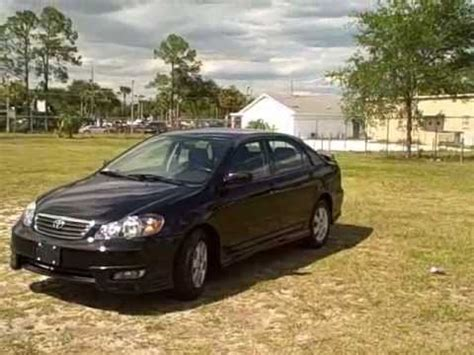 Used Car Dealerships Fl by Used Car Dealer Gainesville Ocala Fl 06 Toyota Corolla S
