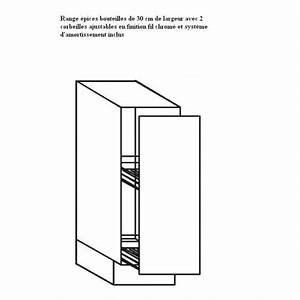 Meuble 30 Cm Largeur : meuble cuisine 30 cm largeur cuisinez pour maigrir ~ Teatrodelosmanantiales.com Idées de Décoration