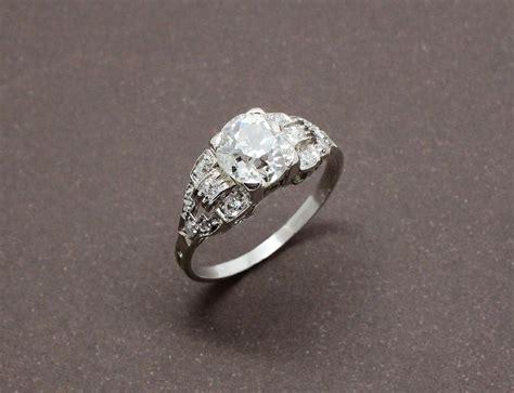 bague de fian 231 ailles d 233 co diamant et or blanc benoit joaillier