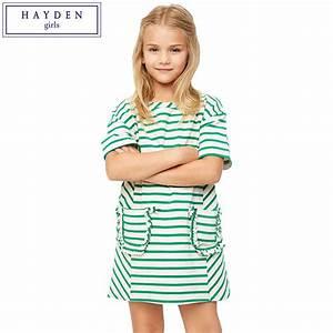 HAYDEN Girls Dresses for Teens Short Sleeve Summer Casual ...