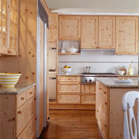 kitchens with warm wood cabinets traditional home