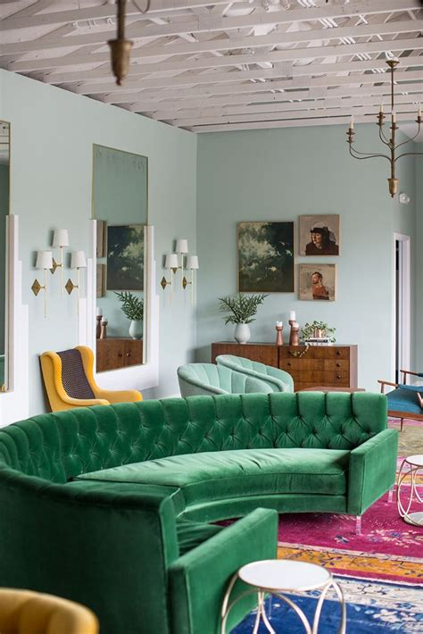 Green Sofa by Green Sofa Design Ideas Pictures For Living Room