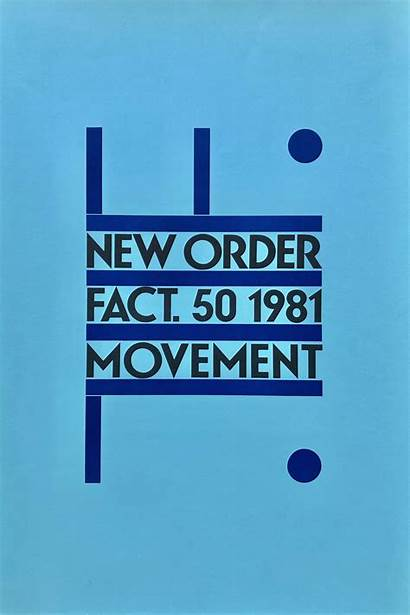 Records Order Poster Factory Movement Joy Division