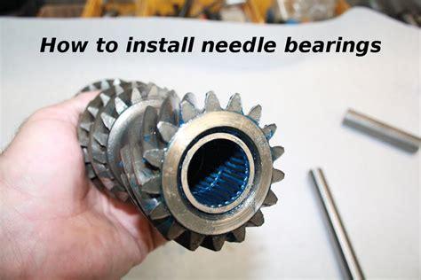 rebuild  muncie  speed installing needle