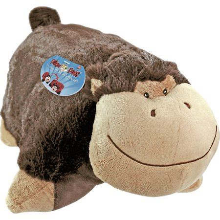 pillow pets wee as seen on tv pillow pet wee silly monkey walmart