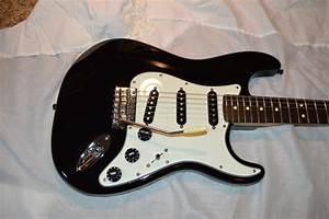 U201cthe Tuxedo U201d Black And White Fender Stratocaster
