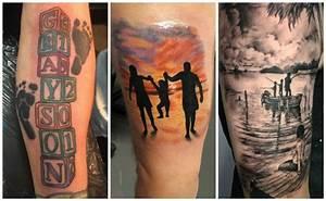 Tatuajes de familia, todos los diseños y significados para cada miembro