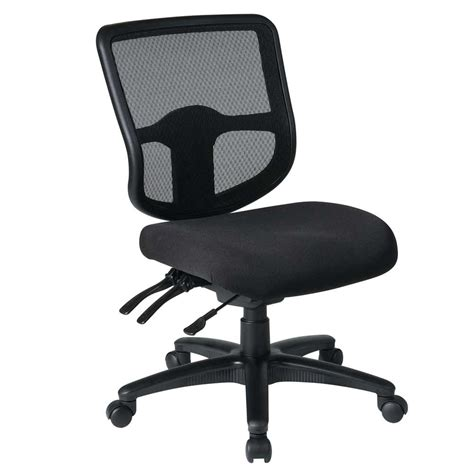Desk Chair With Arms by Office Chairs No Arms Furniture Net