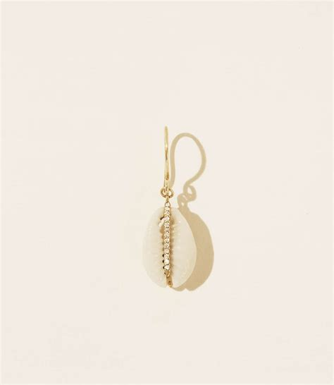 Boucle d'oreille CAURI diamant - Hesmē