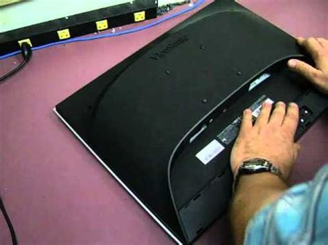 Repairing a Viewsonic VX2235wm - Part 3 - re-assembly and ...