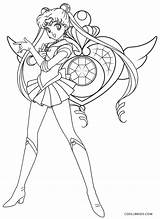 Sailor Coloring Moon Pages Eternal Printable sketch template