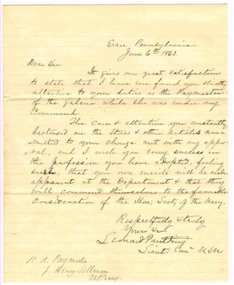 civil war letters conways vintage treasures 12971