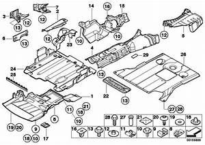Abschirmung Motorraum 3er  51718193818