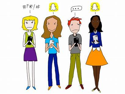 Social Teen Teens Addiction Cycle Smartphone Parent