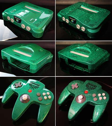 Custom Zelda Nintendo 64 Looks Amazing Technabob