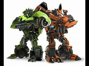 Transformers saga all The Twins scenes - YouTube  Transformers