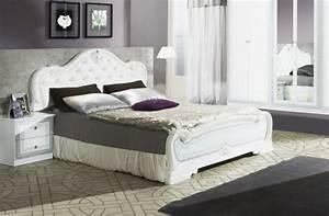 Design Bett 180x200 : bett lion in weiss klassisch design 180x200 cm mit lattenrost 26 leisten ~ Frokenaadalensverden.com Haus und Dekorationen