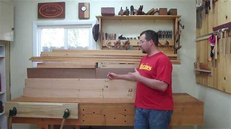split top roubo part  slab preparation  workbench