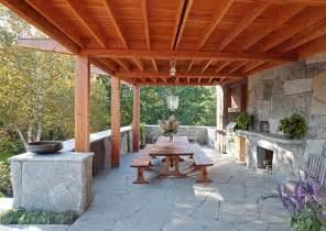 floor and decor granite countertops rustic outdoor kitchen camden maine contemporary