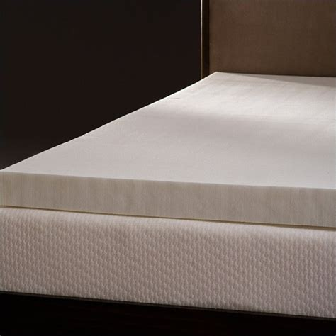 4 memory foam mattress topper comfort magic mem cool 4 quot memory foam mattress topper ebay
