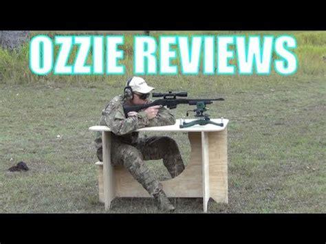 ata tactical portable shooting bench youtube