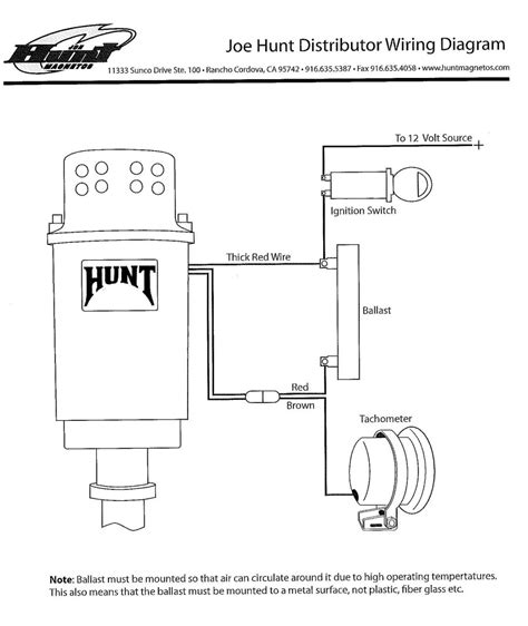 Wiring Diagram For Joe Hunt Hei Distributor Alkydigger