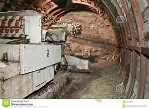 Mining Machine In Coal Mine Stock Photography - Image ...