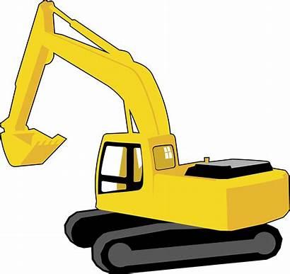 Excavator Clipart Cat Clip Digger Bulldozer Transparent