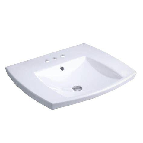 kohler kelston drop in vitreous china bathroom sink in