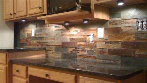 cool backsplash ideas  tan brown granite countertops