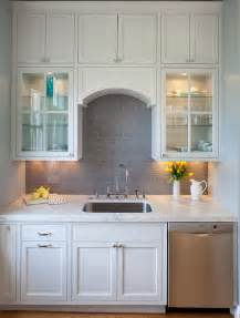 Gray Backsplash Kitchen Grey Subway Tile Backsplash Contemporary Kitchen Artistic Designs For Living