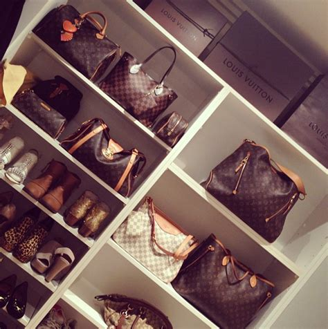 Luxury Closet Handbags by Shelves For Handbags Contemporary Closet Jerusha Couture
