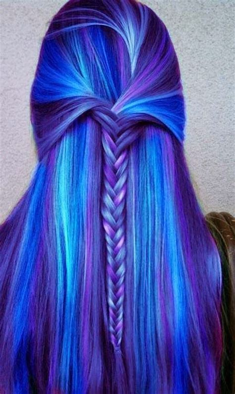 Thats A Pretty Hair Color I Want Purple Cool Aid Dyed