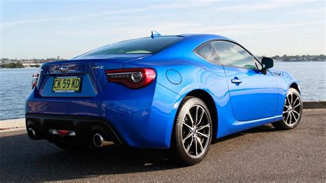 Subaru Brz Manual 2017 Review Carsguide
