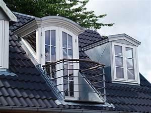 Dachfenster Mit Balkon Austritt : dachloggia loggia nachtr glich einbauen ~ Indierocktalk.com Haus und Dekorationen