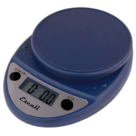 escali primo pnb digital kitchen food scale royal blue