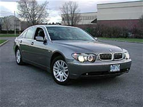 04 Bmw 745li by Test Drive 2004 Bmw 745li Autos Ca