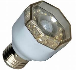 Lampe Mit Sensor : led lampe 3 watt mit eingebautem bewegungsmelder ~ Watch28wear.com Haus und Dekorationen