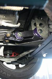 S1 Elise  U2013 Fitting Poly Lower Rear Engine Mount Bushes