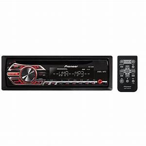 Pioneer Deh-150mp Single-din In-dash Cd Receiver With Mp3 Playback And Front Aux-in