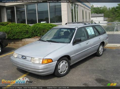 1996 Ford Escort Lx Wagon Silver Frost Metallic Gray