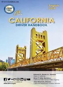 California Driver Handbook 2018