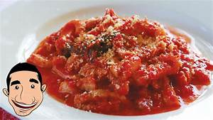BEEF TRIPE RECIPE | Homemade Trippa al Sugo | Italian Food ...  Italian