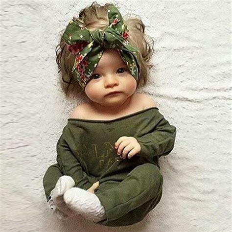 newborn infant kids baby boy girl cotton romper jumpsuit