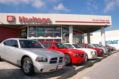mileone heritage chrysler dodge jeep stores  baltimore