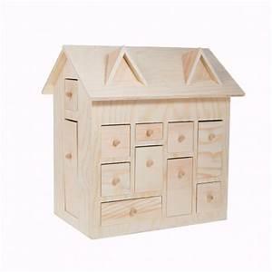 Calendrier De L Avent Maison : calendrier de l 39 avent maison en bois 3d ~ Preciouscoupons.com Idées de Décoration