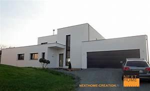 Maison Sans Toit : maison toit plat double garage ~ Farleysfitness.com Idées de Décoration