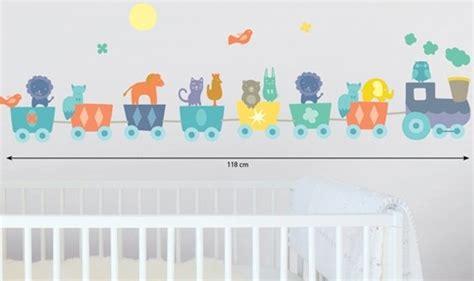 Kinderzimmer Eisenbahn Deko by Kinder Wandtattoo Eisenbahn Zug Tiere Wandsticker Sticker