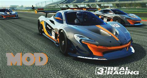 Real Racing 3 Mclaren P1 Gtr Concept Vinyl Mod