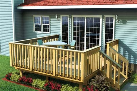 10x12 shed deck designs here 39 s an affordable and simple woo